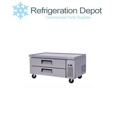 Migali C-cb48 Refrigerated Chef Base - Two Drawer 9.4 Cuft