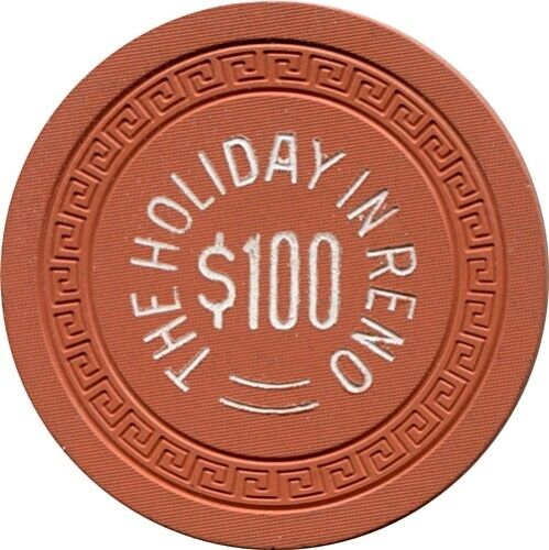Holiday In Reno, $100 Casino chip  MINT
