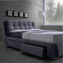 new HAVANA 4 drawer upholstered bed frame (bedroom) PAYMENT PLANS Bundall Gold Coast City Preview