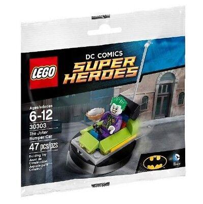 LEGO BATMAN POLYBAG WITH MINIFIGURE JOKER BUMPER CAR 30303 BUILDING TOY