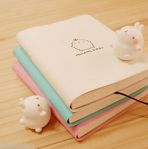 Molang-Diary-Planner-Journal-Scheduler-Organizer-Agenda-Cute-Rabbit-Kawaii