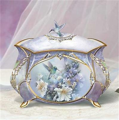Music Treasure Box - LENA LIU Precious Treasure Hummingbird Music Box NEW