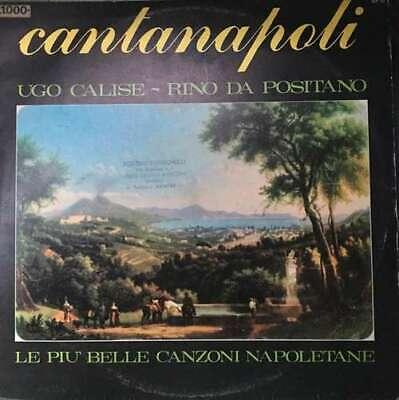 Ugo Calise - Rino Da Positano - Cantanapoli (LP, Vinyl Schallplatte - (Calise)