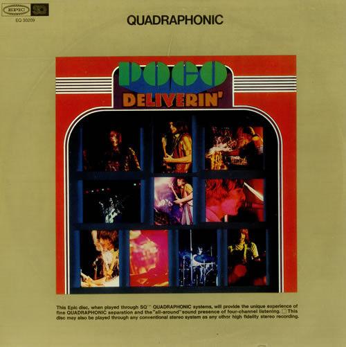 Poco - Deliverin' - Quadraphonic LP