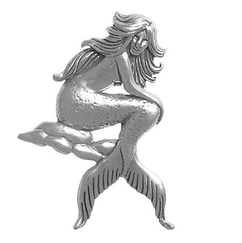 Sterling Silver 925 Mermaid Charm For Bracelet Pendant Charm Jewelry Jewellery