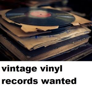 WILL PICK UP YOUR UNWANTED VINYL RECORDS