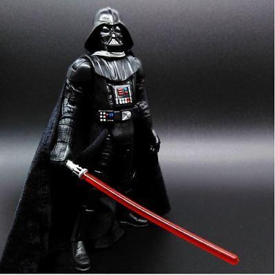 R 11 CM ACTIONFIGUR LICHTSCHWERT JEDI MIT UMHANG  NEU !!! (Darth Vader Mit Lichtschwert)