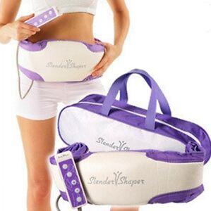Slimming Lose Weight Toning Slim Fat Burning Massager Belt Slender Shaper New