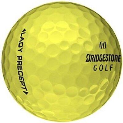 50 Bridgestone Lady Precept Yellow  Used Golf Balls AAA+ for sale  Delta