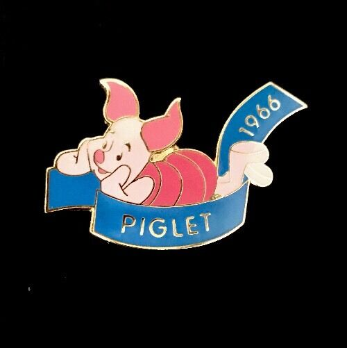 Disney Pins; Piglet 1966 Countdown To Millennium #79 Pin