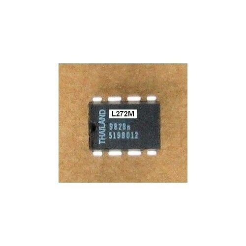 2ea L272 Dual 1A Power Op Amp 8 Pin DIP IC 4 - 28V Thermal Shutdown Low Z Output