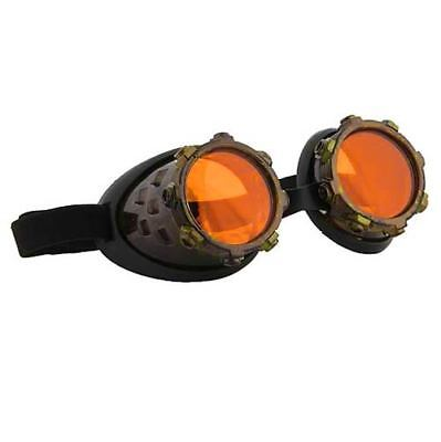 Steampunk Goggles Victorian Glasses Gothic Style Halloween Costume Fancy Dress  - Victorian Style Dresses Halloween