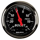 Auto Meter Car Boost Gauges