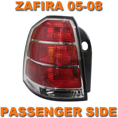 VAUXHALL ZAFIRA B MK2 2005-2007 REAR TAIL LIGHT LAMP PASSENGER SIDE N/S LEFT
