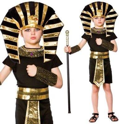 Jungen Ägyptischer Pharao König Kostüm Buch Woche Historisch Kinder - Pharao Kostüm Junge