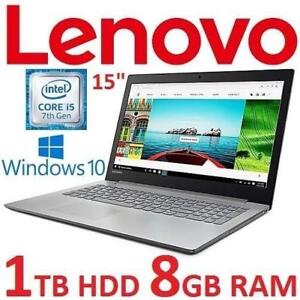 "OB LENOVO IDEAPAD NOTEBOOK PC 80XL02MRCF 184061983 15"" I5-7200U 8GB RAM 1TB HDD WIN10 OPEN BOX LAPTOP COMPUTER OPEN BOX"