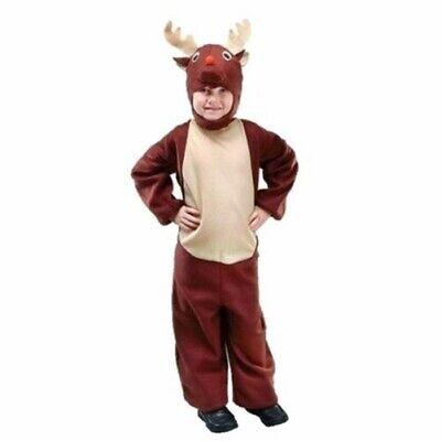 Mädchen Krippenspiel Weihnachten Kostüm Jungen Rudolph Rentier - Rudolph Rentier Kostüm