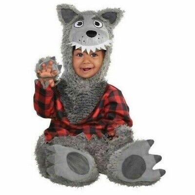 Baby Wolf Werwolf Kostüm Süß Kleinkind Halloween Kostüm 0-24 Months