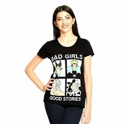 Geschichte Mädchen T-shirt (Damen disney Villains Schlechte Mädchen Good Geschichten T-Shirt - Böse Königin)