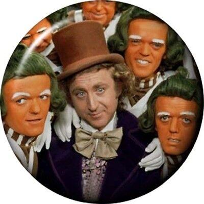 Willy Wonka Oompa Loompa Umpa Lumpa Cosmetic Pocket MIRROR 6cm 2.25 inch NEW