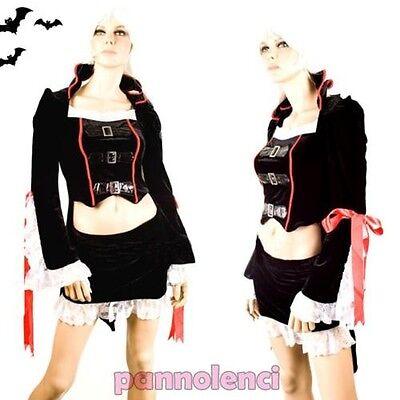 Traje de mujer disfraz de carnaval VAMPIRA vampiro halloween CI-221 (Disfraz De Halloween Vampira)