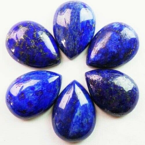 10pcs 25x18mm Beautiful Lapis Lazuli teardrop CAB CABOCHON