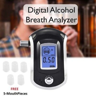 Digital-atem-alkohol (Portable Digital Atem Alkohol Probe Analysator LCD Breathalyser Test Finder)