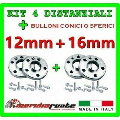 Set 4 Separadores Para BMW X5 (E70 X70) 2007-2014 PROMEX Italy 12MM...