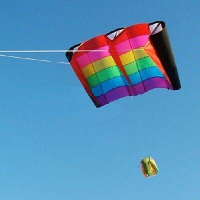 GIANT SLED POWER LIFTING KITE by ALFA kites 230 x 110 cm