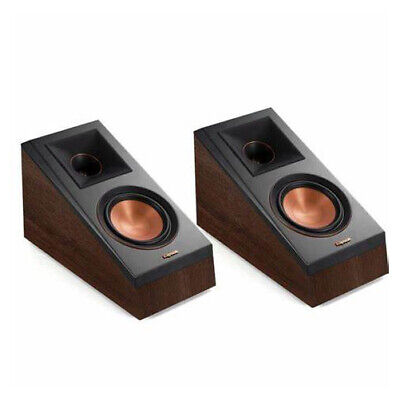 Klipsch RP-500SA Atmos Speakers PAIR - WALNUT Elevation Dolby Home Theatre