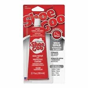 new shoe goo 110011 clear 3 7oz adhesive glue for leather