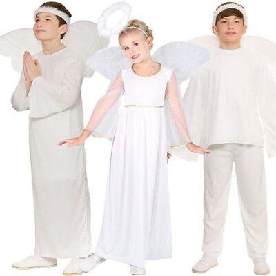Kinder Engel Gabriel Maskenkostüm Weihnachten Krippenspiel Kinder-Outfit Alter