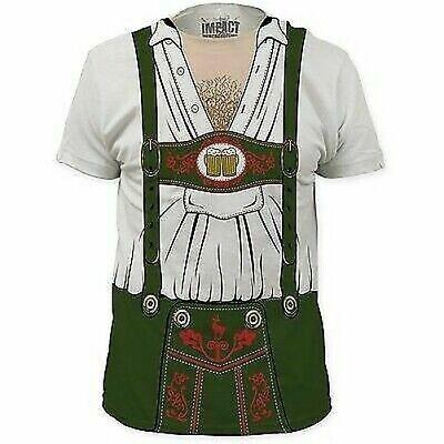 Oktoberfest Bier Deutsch Holländisch Behaarte Brust Kostüm Outfit T-Shirt - Behaarte Brust Kostüm