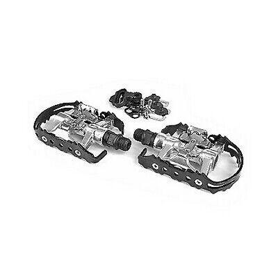 S10544 _ Pedales MTB Automático Híbrido CQ Compatible Shimano SPD