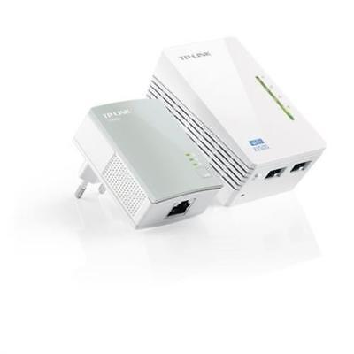 TP-LINK TL-WPA4220KIT 500Mbps WLAN Powerline Adapter Repeater refurbished