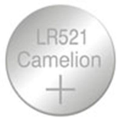 LR521 Batterie Knopfzelle 379 Alkaline 1,5V. Camelion , 0% Hg