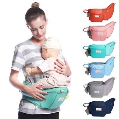Baby Tragetasche Hüftsitz Lauflernhilfe Schlinge Babytrage Gürtel Hüft Säugling