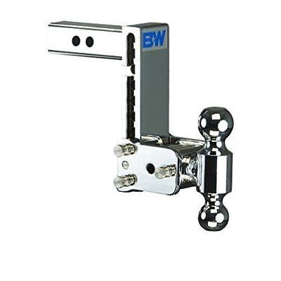 "Used, B&W TS10040C Tow & Stow 2-Ball Mount Hitch 7"" Drop 7.5"" Rise Chrome for 2"" Hitch for sale  USA"