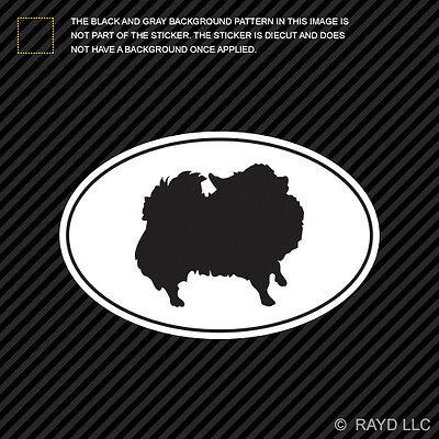 "Certified Pomeranian L290 Dog Sticker 6/"" decal"