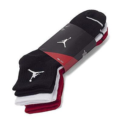 Dri-fit Quarter Socken (Nike Jordan Jumpman Dri - Fit Niedrig Quarter-Socken Multi 3 Paar Sx5544-011)