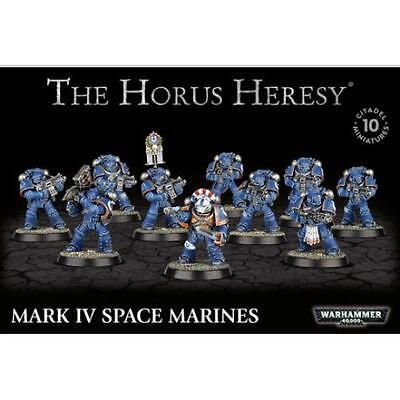 40K Betrayal At Calth Mark IV (4)Space Marine Tactical Squad Horus Heresy Legion