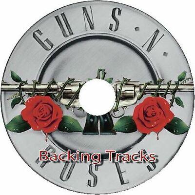 GUNS N ROSES GUITAR BACKING TRACKS CD BEST GREATEST HITS MUSIC PLAY ALONG