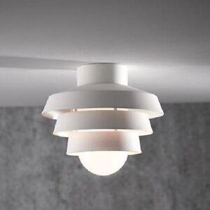 Blanc plafonnier lampe d 39 ext rieur ip44 ext rieure for Plafonnier exterieur terrasse