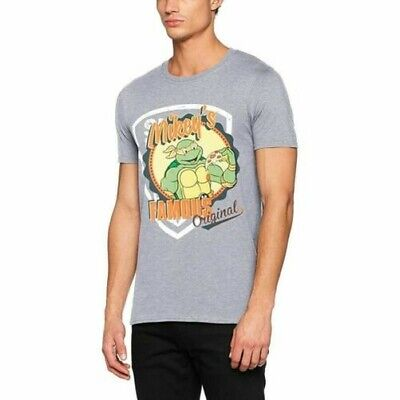 Herren Teenage Mutant Ninja Turtles Mickeys Original Grau T-Shirt - Unisex Tmnt