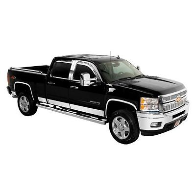 Putco 9751207 Rocker Panel Trim Cover for 2007-2013 Silverado Crew Cab 5.5' Box Crew Cab 5.5' Box