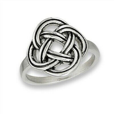 Stainless Steel Celtic Knot - Stainless Steel Celtic Knot Ring - Free Gift Packaging