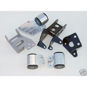 Hasport engine swap motor mount kit 92 96 honda prelude for Honda prelude front motor mount