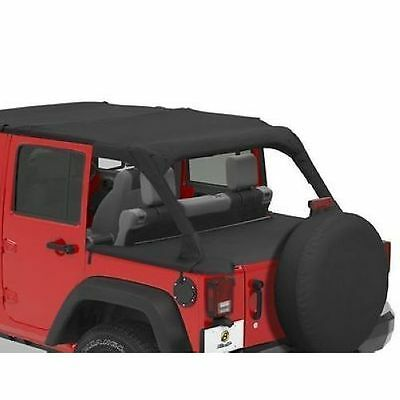 Bestop 90031-35 Duster Deck Cover Black Diamond for 2010 Jeep Wrangler Unlimited 35 Duster Deck Cover
