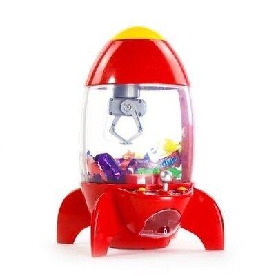 Rakete Candy Greifarm Kinder Led-Lampen Geräusche Kran Batterie