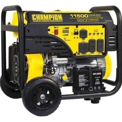Support 9200 Watt 459cc Portable Generator ES #100110